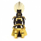 Metal 3D Robot Puzzle Toy - Golden + Black