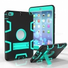 Robot Kickstand Hard PC Soft Silicone Cover for Apple iPad mini1/2/3