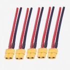 XT60 Female Plugs 12AWG 10cm With Wire (5 PCS)