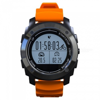 S928 GPS Tracker Bluetooth Sports Smart Watch Outdoor Band - Orange