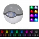 BLCR LED Motion Sensor Light 8-colors Toilet Bowl Lamp - Grey