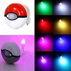 8 Colors LED Toilet Night Light Motion Activated Light Sensitive Dusk to Dawn Battery-operated Lamp