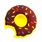 Inflatable Toys Donuts Style Water Swim Ring Coaster Cup Holder