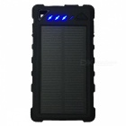 Ismartdigi 21LED 8000mAh Power Bank w / Valuta Kontroll - Svart