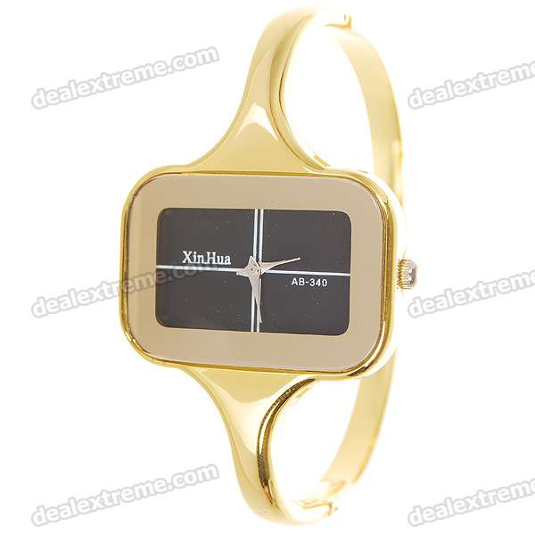 Stainless Steel Lady's Bracelet Watch - Golden (1*377)