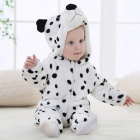 IDGIRL Cartoon Flannel Baby Animal Jumpsuit for 13-18 Months Kids