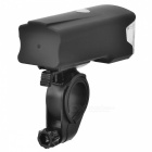 INBIKE A124 4-Mode 5W Neutre Blanc Night Riding Bike Light-Noir