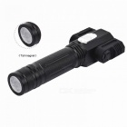 T6+2*XPE 360 Degree Rotation Super Bright 4-Mode Flashlight w/ Magnet