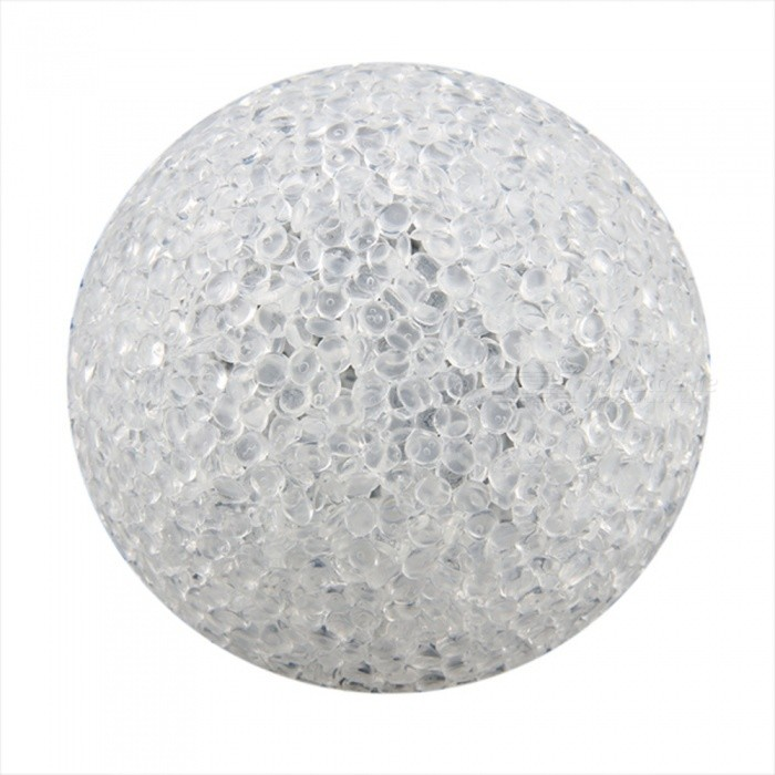 Plastic Crystal Ball LED 7-Color Changing Night Light Lamp