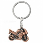 JEDX Creative Motorcycle Style Zinc Alloy Keychain - Red Bronze
