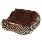 Small Pet Bed Doghouse with Pillow (L Size)