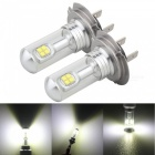 MZ H7 40W 12V  LED Car Fog Light DRL Conversion Bulb (2 PCS)