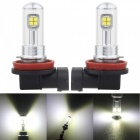 MZ H11 H8 40W 12V  LED Car Fog Light DRL Conversion Bulb (2 PCS)