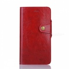 Protective Leather Case w/ Stand/ Card Slots for IPHONE 7 Plus - Red