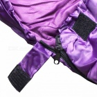 Outdoor Activities Camping Envelope Type Adult Sleeping Bag - Purple
