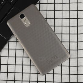 OCUBE Protective Hard PC Back Cover Case for Doogee Y6 MAX - Grey