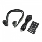 Cwxuan BoneConduction Bluetooth v4.0 casque stéréo casque - noir