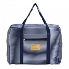 Outdoor Portable Travel Nylon Fabric Storage Bag Handbag - Blue