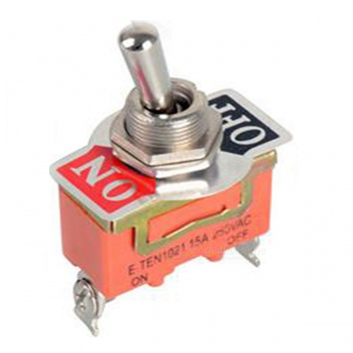 SPST Waterproof Switch Cap On-Off Miniature Toggle Switches (5pcs)