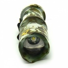 Outdoor Home Mini LED Zooming 3-Mode Flashlight - Camouflage