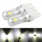 MZ 7443 W21/5W T20 40W LED Car Brake Light Conversion Bulbs (2PCS 12V)