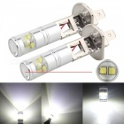 MZ H1 30W LED Car Fog Lights DRL Conversion Bulbs Cold White (2PCS)