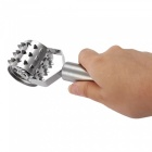 Multifunctional Stainless Steel Meat Tenderizer Kitchen Tool - Silver