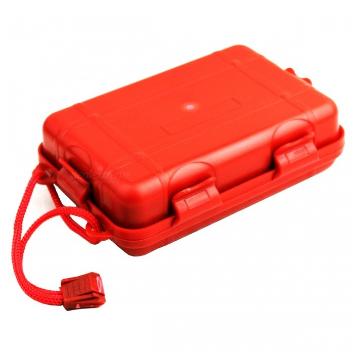 SOS Outdoor Travel kole First Aid Box-zarudlý