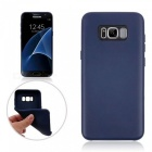TPU Protective Back Case Cover for Samsung Galaxy S8 - Deep Blue