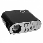 GP90 Home Theater Mini LED Projector w/ USB, HDMI, VGA Ports (EU Plug)