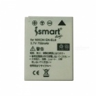 Ismartdigi EL8 750mAh 3.7V Battery + Micro USB Charger for Nikon