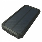 Ismartdigi RT-1 6LED 8000mAh Waterproof Power Bank for Phones - Black