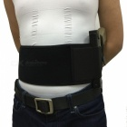 Left Hand Concealed Carry Ultimate Belly Band Holster - Black