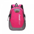 Wear-resistant, Oxford Fabric Material, Casual Style, 25L Large Capacity, For Travel, School, Cycle