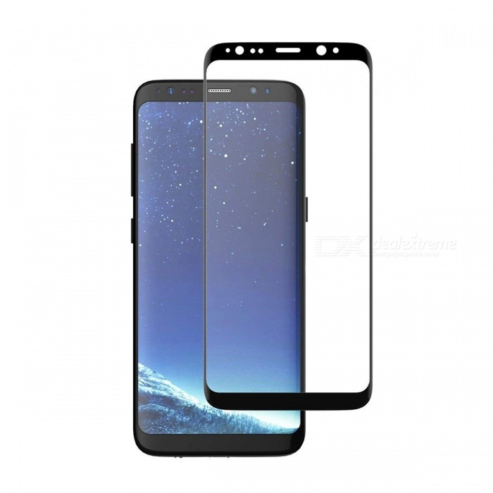 Dazzle Colour Tempered Glass Screen Protector for Samsung Galaxy S8Screen Protectors<br>Form ColorBlack for S8Screen TypeGlossyModelSamsung Galaxy S8MaterialTempered GlassQuantity1 pieceCompatible ModelsSamsung Galaxy S8Features3D,Fingerprint-proof,Anti-glare,Scratch-proof,Tempered glassPacking List1 x Tempered glass film1 x Wet wipe1 x Dry wipe1 x Dust sticker<br>