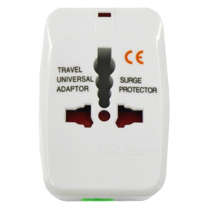 AC 110-250V / 10A Travel Global konverteringspluggadapter