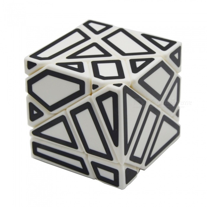 Non-toxic Ghost Magic IQ Cube Toys - White