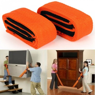 KICCY 2 Packs Moving Lifting Straps Rope Belt for Lifting Furniture
