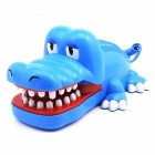 AR-5065 Creative Cartoon Crocodile Shaped Wired Telephone - Blue