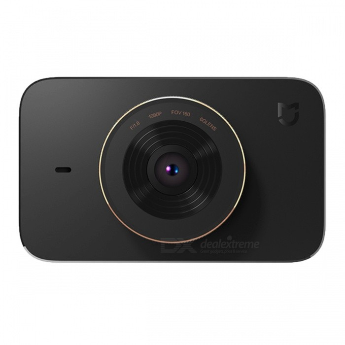 Xiaomi MiJia Video Recorder Car DVR with SONY IMX323 SensorCar DVRs<br>Form  ColorBlackModelMJXCJLY01BYQuantity1 setMaterialPC / ABSChipsetOthers,Mstar MSC8328PScreen Size3-3.9Other FeaturesWi-FiScreen Resolution:1920 x 1080 dpiCamera Pixel2.9-2.9MP MPWide Angle150°-169°Camera Lens1Image SensorCMOSImage Sensor SizeOthers,1/2.9 inchesCamera PixelOthers,2.0MPWide AngleOthers,160 DegreesScreen TypeTFTScreen Size3.0 inchesVideo FormatMP4Decode FormatH.263Video Resolution1080FHD(1920 x 1080)Video Frame Rate30ImagesJPGStill Image ResolutionOthers,1920 * 1080MicrophoneYesMotion DetectionNoAuto-Power OnYesIR Night VisionYesG-sensorNoBuilt-in Memory / RAMNoMax. CapacityOthers,N/AStorage ExpansionTFAV InterfaceOthers,N/AData interfaceMini USBWorking Voltage   5 VBattery Capacity240 mAhMenu LanguageChinese SimplifiedPacking List1 x Xiaomi mijia 1080P Car DVR1 x Static paste  1 x Car charger cable 1 x Car charger adapter1 x High temperature resistant glue  1 x Pry bar 1 x Bracket<br>