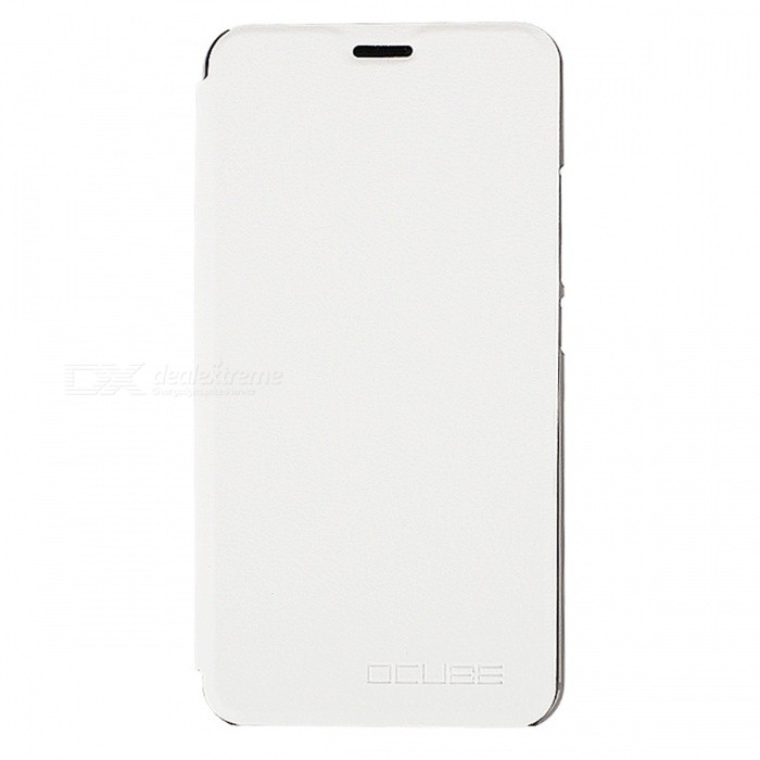 OCUBE PU Leather Flip-open Case for UMI Z Mobile Phone - White