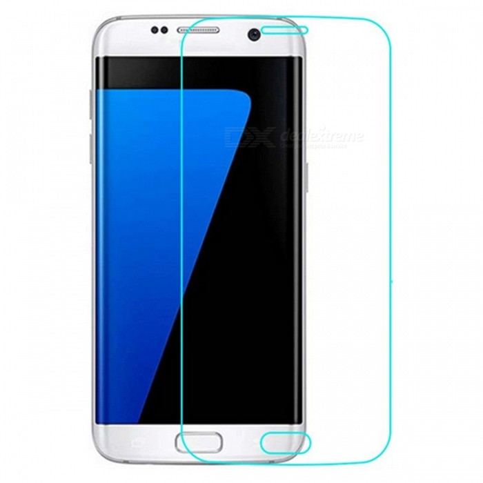 Dazzle Colour Tempered Glass Screen Film for Samsung S7 - TransparentScreen Protectors<br>Form  ColorTransparent (1Pcs)Screen TypeGlossyModelN/AMaterialTempered glassQuantity1 DX.PCM.Model.AttributeModel.UnitCompatible ModelsSamsung Galaxy S7Features2.5D,Fingerprint-proof,Anti-glare,Scratch-proof,Tempered glassPacking List1 x Tempered glass film1 x Wet wipe1 x Dry wipe1 x Dust sticker<br>