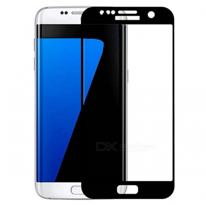 Dazzle Colour Tempered Glass Screen Film for Samsung S7 - BlackScreen Protectors<br>Form  ColorBlack (1Pcs)Screen TypeGlossyModelN/AMaterialTempered glassQuantity1 DX.PCM.Model.AttributeModel.UnitCompatible ModelsSamsung Galaxy S7Features2.5D,Fingerprint-proof,Anti-glare,Scratch-proof,Tempered glassPacking List1 x Tempered glass film1 x Wet wipe1 x Dry wipe1 x Dust sticker<br>