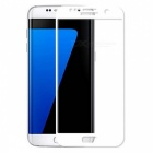 Dazzle Colour Tempered Glass Screen Film for Samsung S7 - White