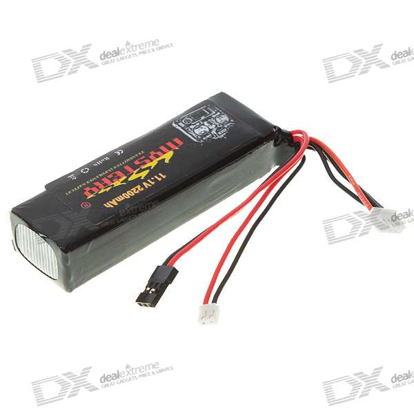 Mystery 11.1V 2200mAh Lithium Polymer Rechargeable Battery
