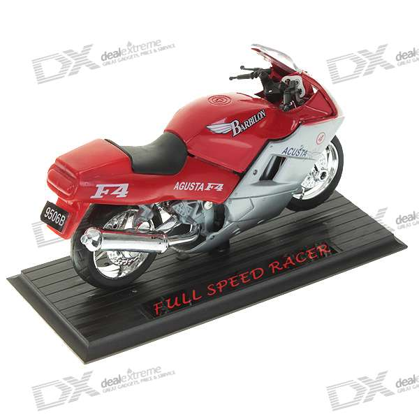 11306 Alloy + Plastic Motorcycle Model (Color Assorted)