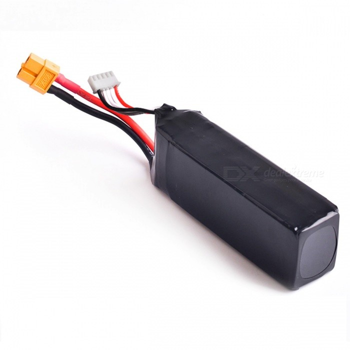 HJ 14.8V 2200mAh 30C Lipo Battery for R/C Quadcopters - Black