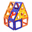 72-Piece Magnetic Blocks Educational Toy for Children - Multi-Colored