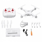 LIDIRC L15 Waterproof RC Quadcopter w/ Remote Controller - White