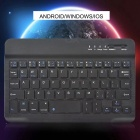 Android / iOS/Windows Bluetooth Keyboard for Smartphone Tablet - Black
